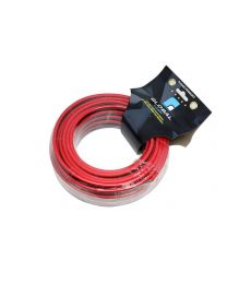 Cable 2 x 10 awg 50 pieds rouge/noir ignifuge CCA