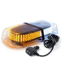 Strobe Ambre ET blanc12 volt 240 LED magnetique pour vehicule