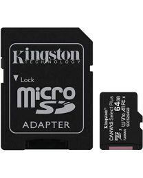 Kingston Canvas Select 64GB microSDXC