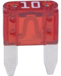Mini fusible à lame (Auto) 10A rouge paquet de 5