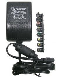 Bloc d'alimentation universel 1.7 AMP3V/4.5V/6V/7.5V/9V/12V