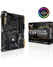Asus TUF B450M-Plus Gaming AMD Ryzen 2 AM4 DDR4 HDMI DVI-D M.2 mATX Motherb