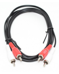 Câble audio 2 RCA mâle à 2 RCA mâle, 6 pieds