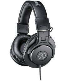 Casque d'écoute de qualité professionnelle noir M30X Audio Technica