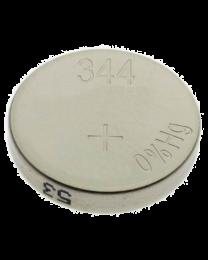 Pile de type bouton à l'oxyde d'argent, 1,55V, 105 mAh, 11,6mm (D) x 3,6mm (H)