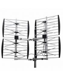 Antenne UHF HDTV 8 baie (éléments) ajustable 36 dB multidirectionel