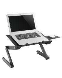 Support pour ordinateur portable avec tapis de souris - Réglable en hauteur