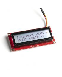 SparkFun 16x2 SerLCD - RGB Backlight (Qwiic)