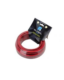 Cable 2 x 12 awg 50 pieds rouge/noir ignifuge CCA