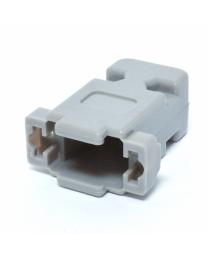 Coquillle pour connecteur DB9 et DB15HD a l'unité