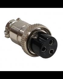 Connecteur DIN 3 contacts femelle au câble
