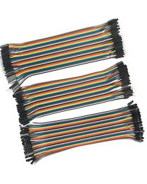 Kit de Cable jumper Dupont m-m,m-f,f-f pour breadboard pour arduino