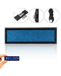 LED Affichage Numérique Rechargeable Programmable Nom Badge
