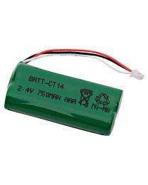 Batterie de remplacement pour Plantronics CT14