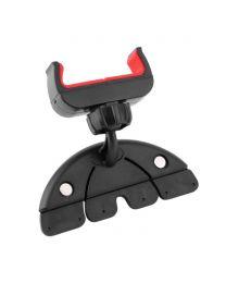 Support Cellulaire par la fente du lecteur CD d'auto rotation 360