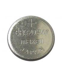 Pile de type bouton à l'oxyde d'argent, 1,55V, 30 mAh, 9,5mm (D) x 2,1mm (H