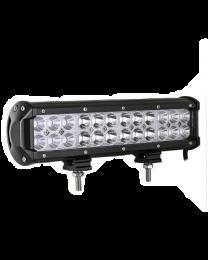 Barre lumineuse 24 DEL, 24x3w, 6000LM, 10-30VDC, IP67, 6000k, 301x80x65mm