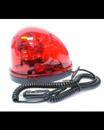 Gyrophare aimantée avec prise 12 VDC - rouge