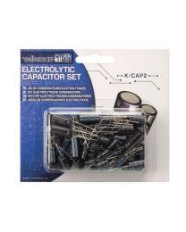 Jeu de condensateurs électrolytiques