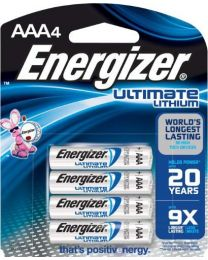 Energizer AAA Ultimate LITHIUM
