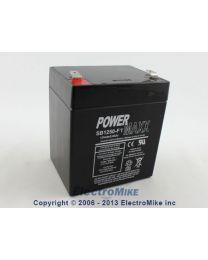 Batterie acide-plomb 12V 5.0AH terminaux 0.187'