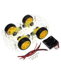 Kit de robot arduino voiture avec 4  moteurs dc & Roues