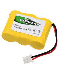 Batterie de remplacement pour téléphone sans fil, Ni-Cd, 3.6V 400mAh
