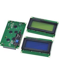 Écran LCD 2004 20X4 compatible arduino fond VERT