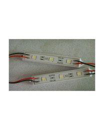 Module DEL 3 DELS, 5050, 0.06A, 0.72W, IP65, 12VDC, Bleu