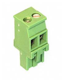 Bloc de jonction vertical vert 2 positions
