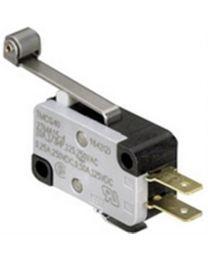 Interrupteur sous-miniature action momentané roulette - SPDT - 16A