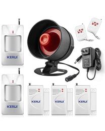 Kit de sécurité complet 32 zones 2 manettes 2 détecteur IR 3 contacts