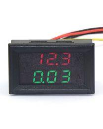 Module d''affichage Voltmètre et Ampèremètre 0-100v 10A