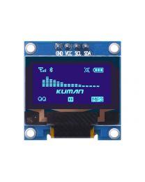 Écran 128x64 OLED 0.96' Port I2C