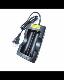 Chargeur pour pile Li-Ion 18650 2 fentes