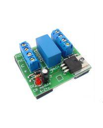 Relais de contrôle 6-24 VDC, contacts de 2A DPDT, monté sur PCB, avec indicateur d'état à LED
