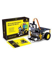 Mini Smart Robot Car Kit V2  (sans micro:bit)