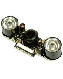 Raspberry Pi Camera Module w/ FISHEYE  & NIGHT-VISION