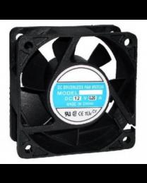 Ventilateur 60 x 25mm 12 VDC plastique