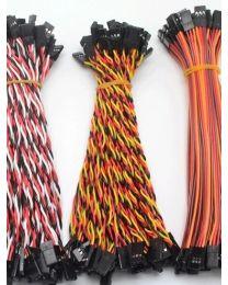 Câble Extension  3 pins F/F Jumper Wire 300 mm TWISTED