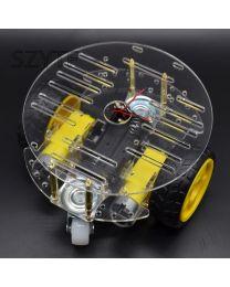 Kit de robot arduino voiture  RONDE 3 roues et moteurs dc