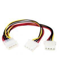 Startech LP4 to 2X LP4 Power Molex Y Splitter Cable M/F