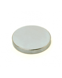 Aimant rond Rare-Earth 3mm d'épais 30 mm de diamètre
