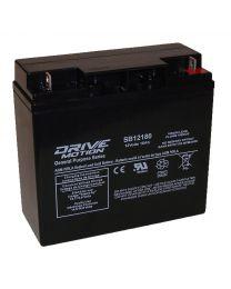 Batterie acide-plomb 12V 18AH181mmx77mm167mm