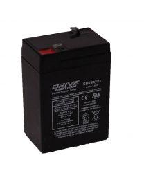Batterie à l'acide plomb 6V 5AH