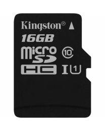 MicroSDHC 16Go Class 10 avec adaptateur à SD