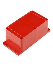 Boitier de  plastique étanche 74x158x90mm Rouge