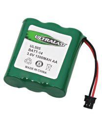 Batterie de remplacement pour téléphone sans fil, NI-MH, 3.6V 1500MAH