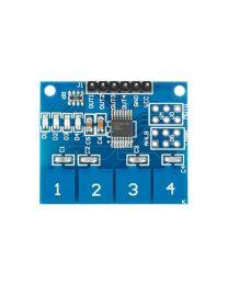Capteur numérique capacitif tactile 4 canal