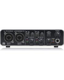 Interface audio-numérique USB, 2x2, 24 bits/192kHz, préamp. MIDAS